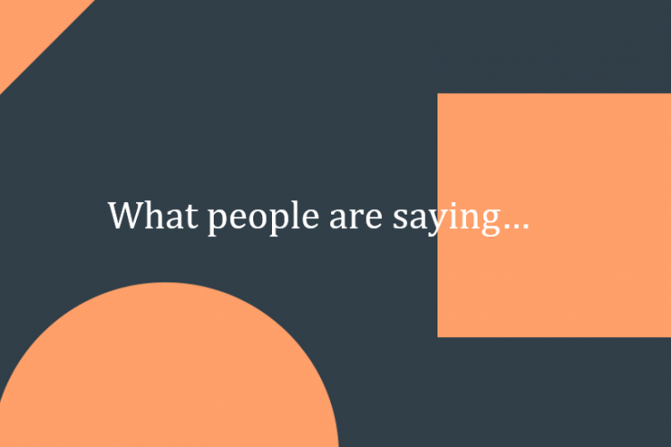 What people are saying… image