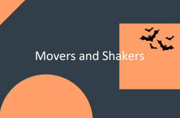 Movers and Shakers October 2018 image