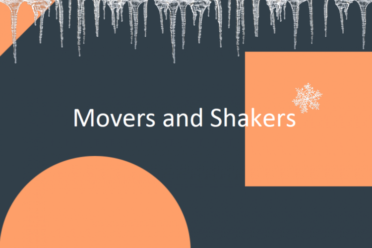 Movers and Shakers November 2018 image