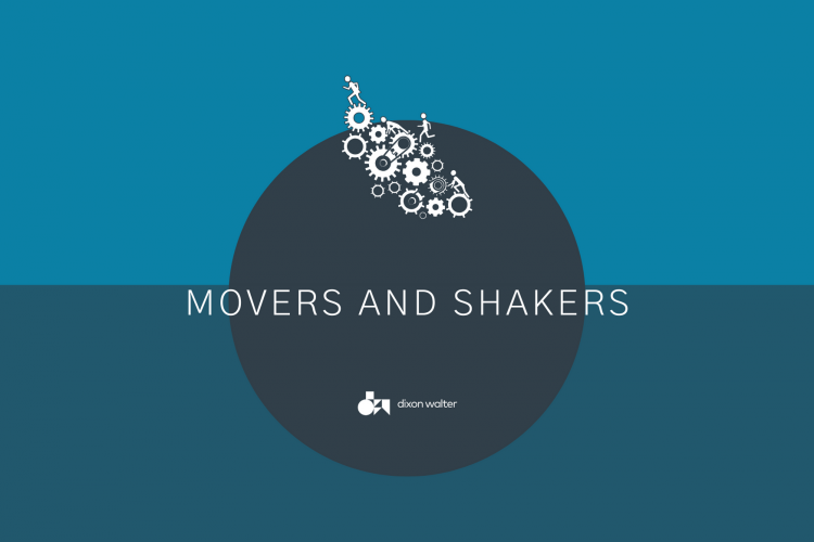 Movers and Shakers April 2021 image