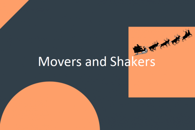 Movers and Shakers December 2018 image